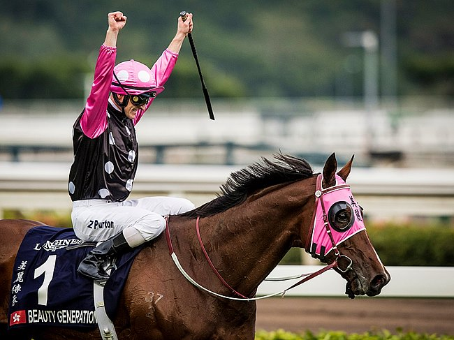BEAUTY GENERATION HAS WON $12.5 MILLION NZ. THIS IS THE STORY OF THE SMALL PART LOGAN RACING PLAYED IN HIS CREATION.
